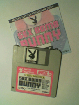 Disk and manual of the game
